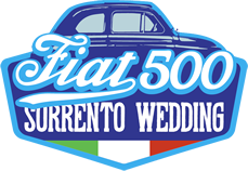 Fiat 500 Sorrento Wedding